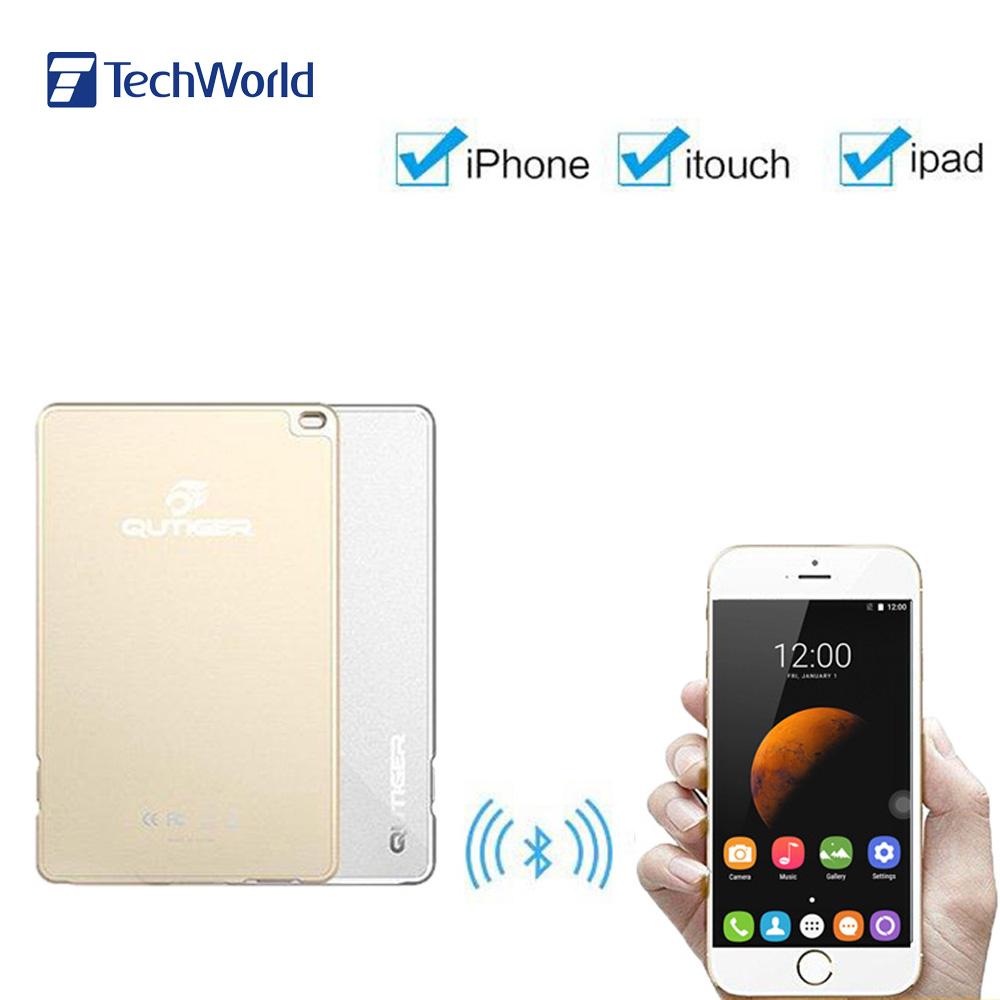 Original Qutiger 4mm Bluetooth Dual Nano SIM Card Adapter BT4.0 Dual Sim Dual Standby Sim Adaptor for iPhone 6S iPad iTouch iOS(China (Mainland))