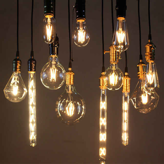 led edison ampoules maison vintage bombillas filament ampoules blanc chaud conomie d 39 nergie. Black Bedroom Furniture Sets. Home Design Ideas