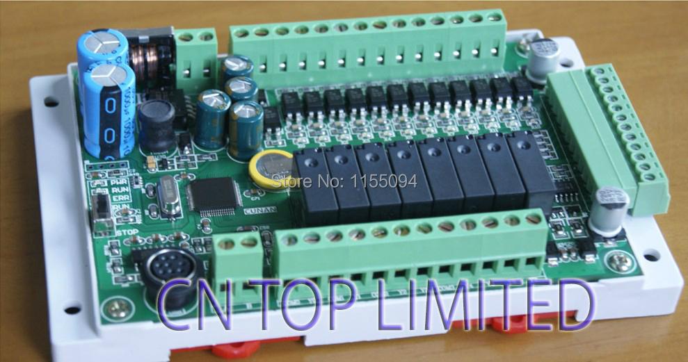 NEW FX1S-20MT-4AD2DA Module board Clock Modbus 24VDC analog input output Transistor output for Mitsubishi PLC(China (Mainland))