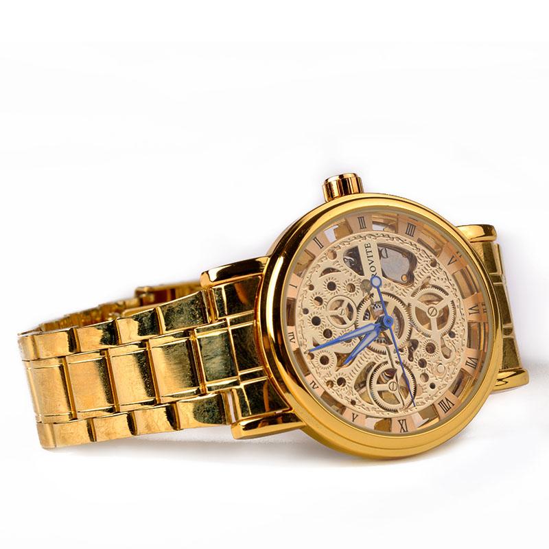 2015 Brand Winner Luxury Fashion Casual Stainless Steel Men Mechanical Watch For Men Dress Wristwatch X60