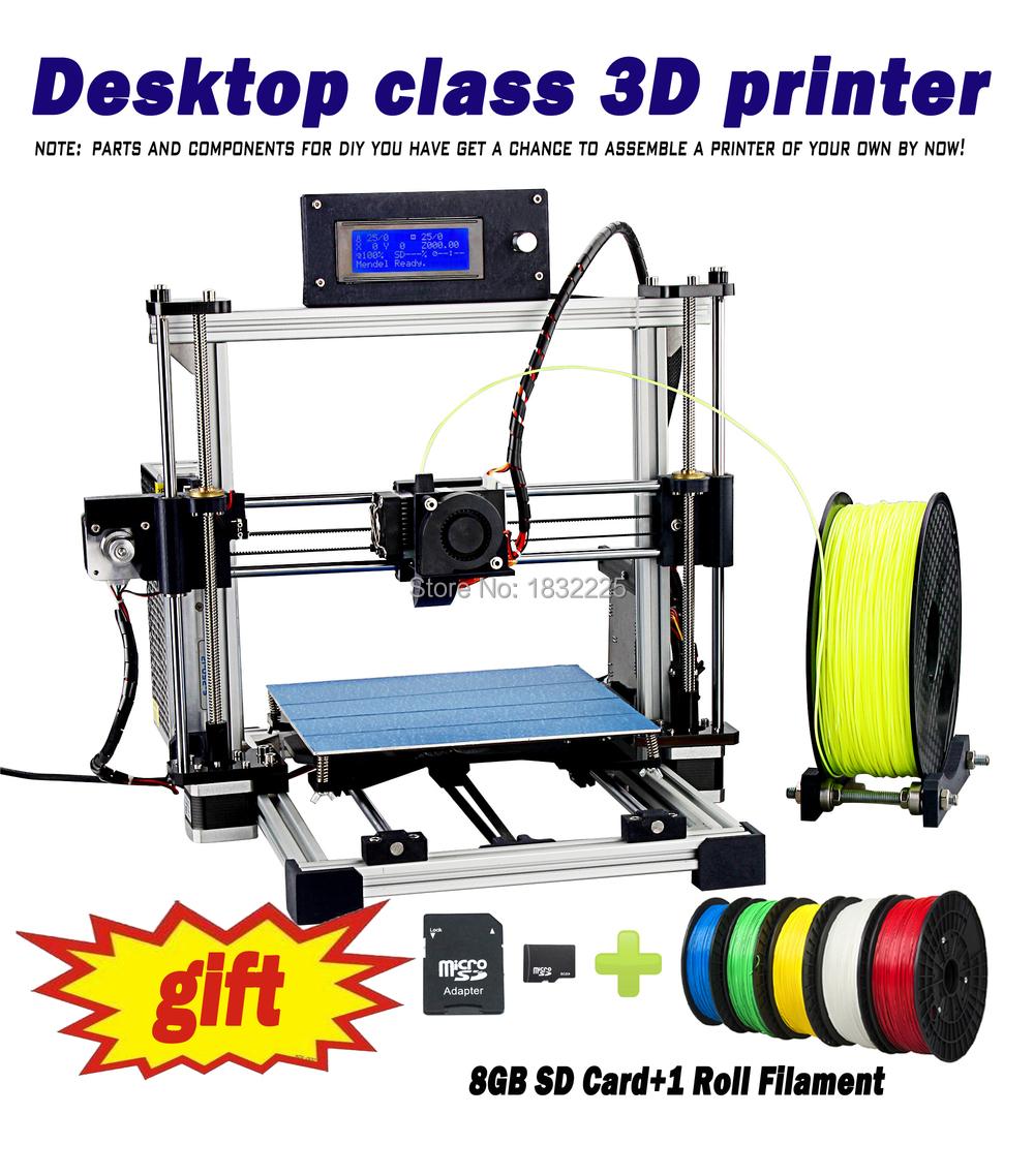 Auto leveling Big print Size Bed impressora 3d Reprap Prusa i3 DIY 3d Printer kit with