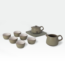 New arrival ceramic tea set kung fu tea four in one PU er tea ordovician 05