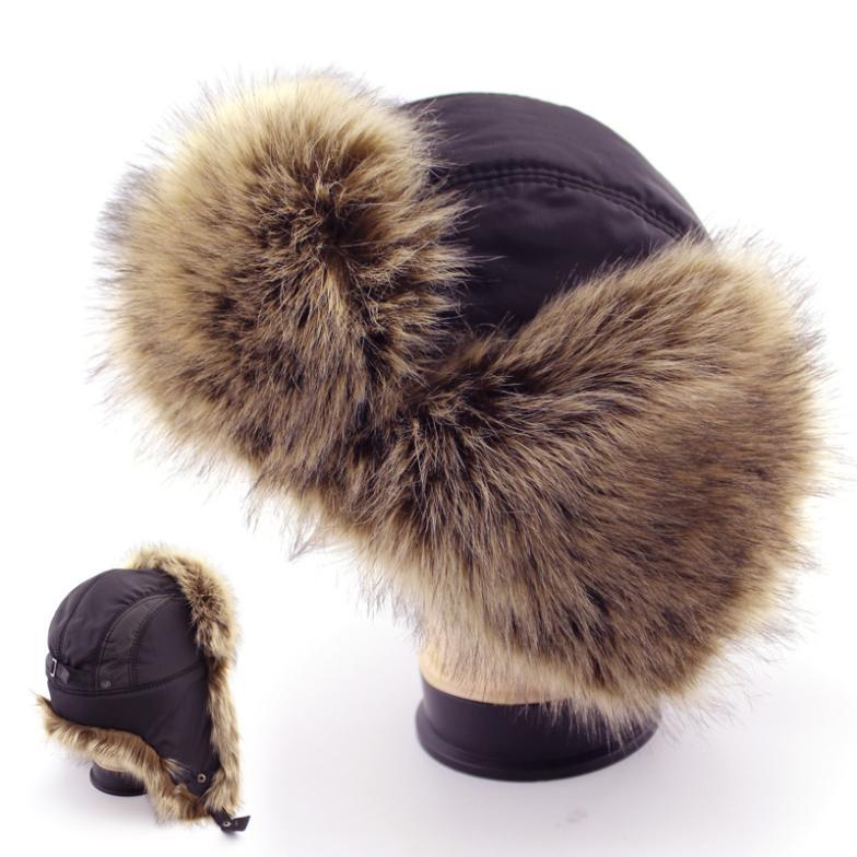 Bomber Hats Men Winter Cap