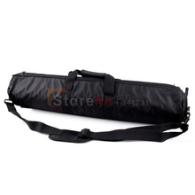 80cm Padded Camera Monopod Tripod Carrying Bag Case with Shoulder strap For 70mm Manfrotto GITZO SLIK Free shipping(China (Mainland))