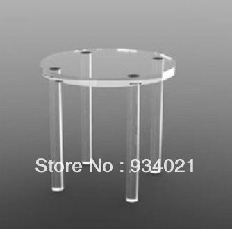 free shipping small furniture round acrylic end table