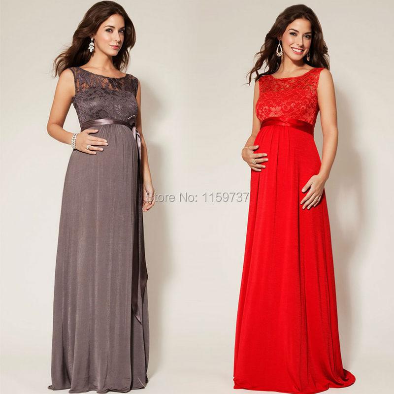 Фасон вечернего платья для беременных