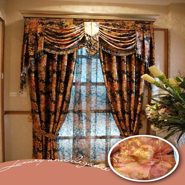 chine fournisseur gros fantaisie cation rideau made in china dans rideaux de maison jardin sur. Black Bedroom Furniture Sets. Home Design Ideas