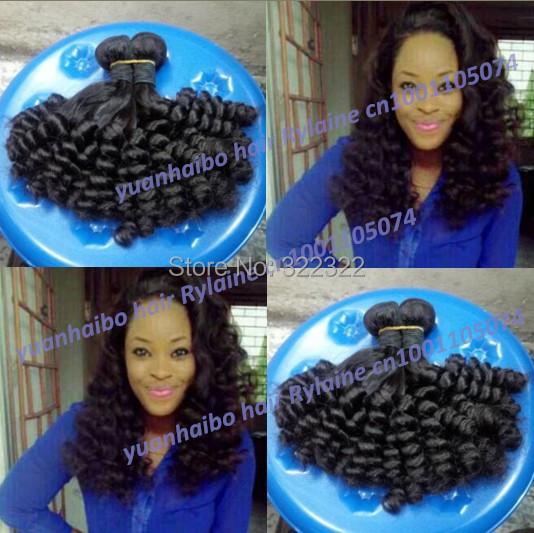 Top 6a grade 1b# 100% virgin malaysian aunty funmi hair romance curls hair weft for black women 3pcs/lot free shipping<br><br>Aliexpress