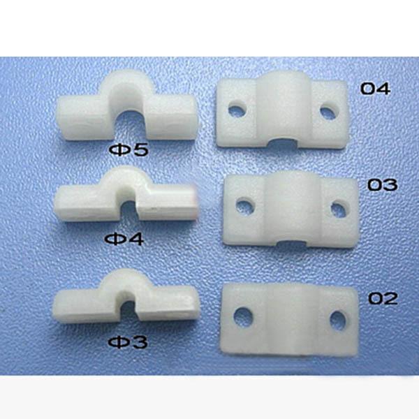 10pcs Arched nylon sheet plastic sheeting presser 3.0/4.0/5.0mm diameter DIY model accessories(China (Mainland))