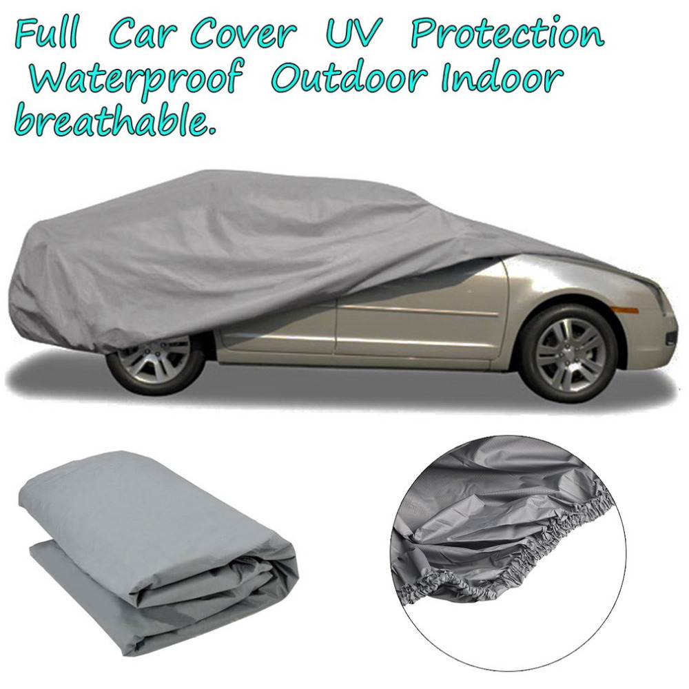 2015New Full Car Cover Breathable UV Protection,Waterproof is suing Indoor shields,Multi size suit for all car/auto model(China (Mainland))