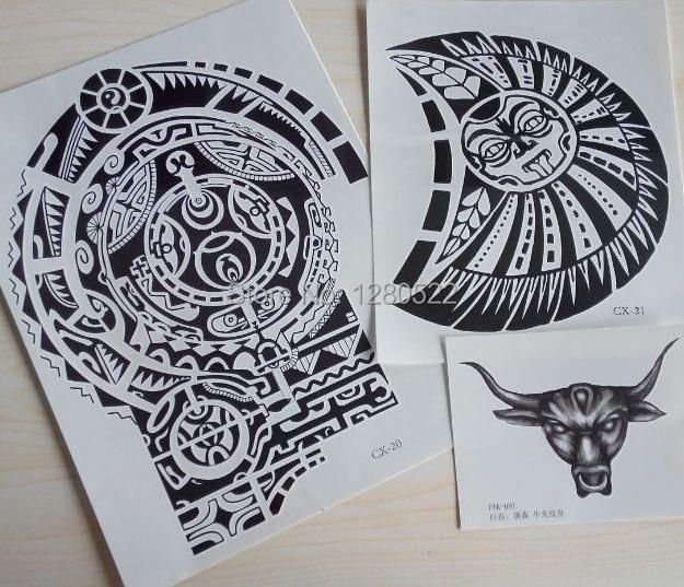 online kaufen gro handel 3d sterne tattoos aus china 3d. Black Bedroom Furniture Sets. Home Design Ideas