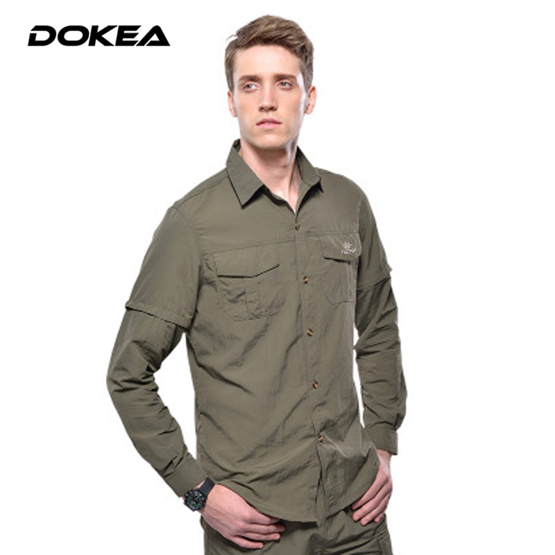 Men long sleeve uv protection quick dry wicking casual for Mens long sleeve uv protection shirt