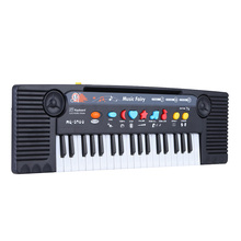 37 Keys Multifunctional Musical Instrument Toy Educational Electone Mini Electronic Music Toy with Microphone Gift for Children(China (Mainland))