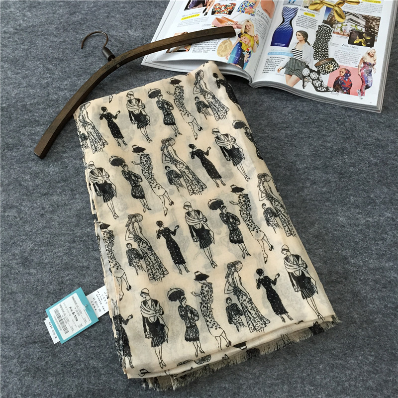 Diseñador algodón Desigual bufanda mujer Bufandas y estolas Cachecol Feminino Bufandas del mantón de Hijab Foulard