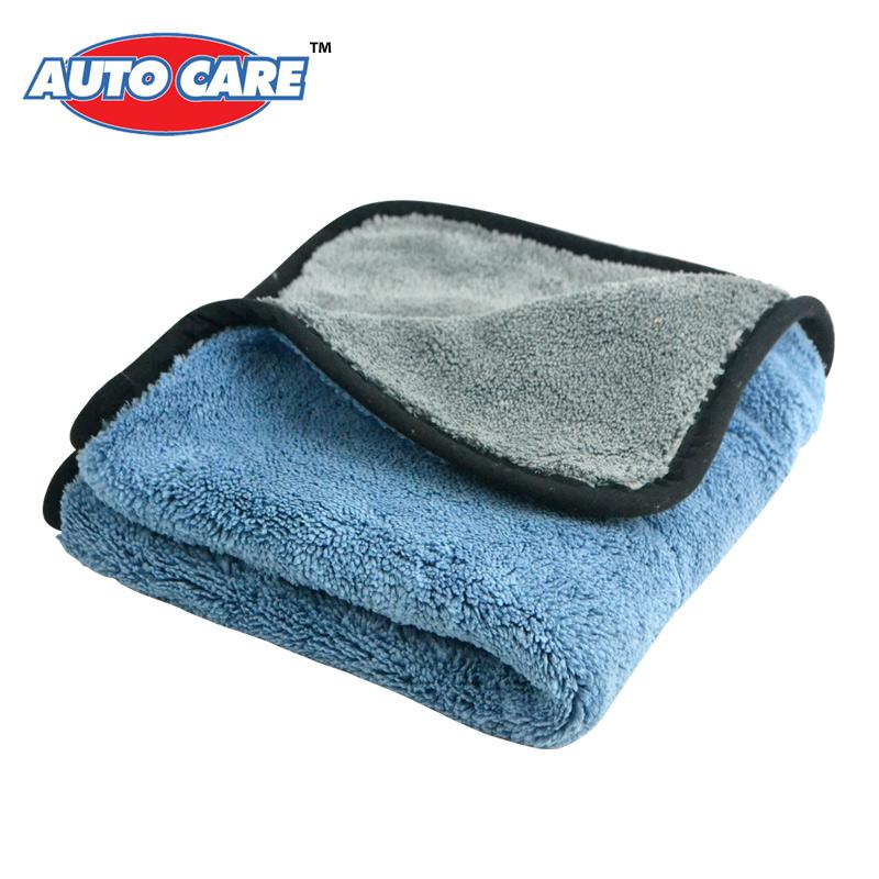 Auto Care 800gsm 45cmx38cm Super Thick Plush Microfiber Car Cleaning Cloths Car Care Microfibre Wax Polishing Detailing Towels(China (Mainland))