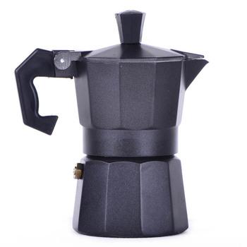 1 Cup ( 50 мл ) черный эспрессо плитой кофеварка - континентальный мока перколяторе горшок алюминий