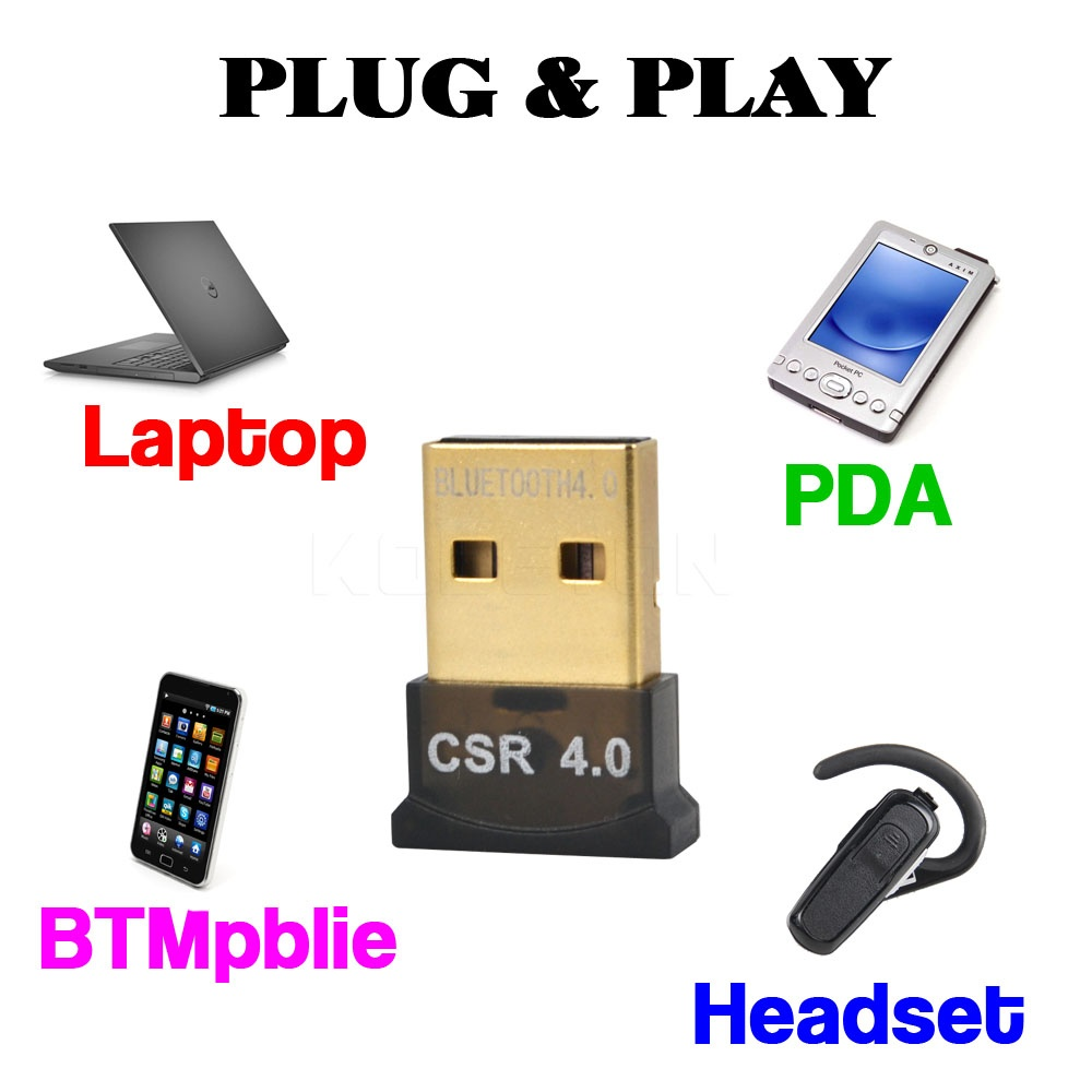 Mini USB Bluetooth Adapter V 4.0 Dual Mode Wireless Bluetooth Dongle CSR 4.0 USB 2.0 3.0 For Laptop Mobile phone Printer(China (Mainland))
