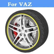 Buy 8m/Roll Auto Rim wheel Hub Sticker Protector car styling VAZ 2104 2109 2111 2121 EL Lada Kalina Largus Priora Revolution for $8.99 in AliExpress store
