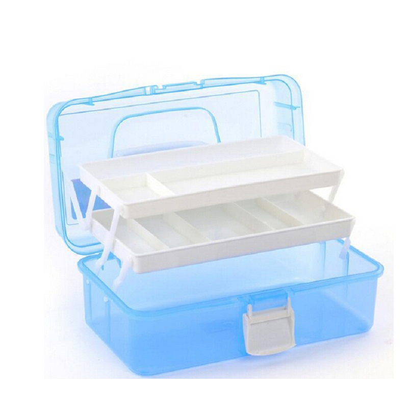 High quality nail tools large size multi utility storage for Quality craft tool box