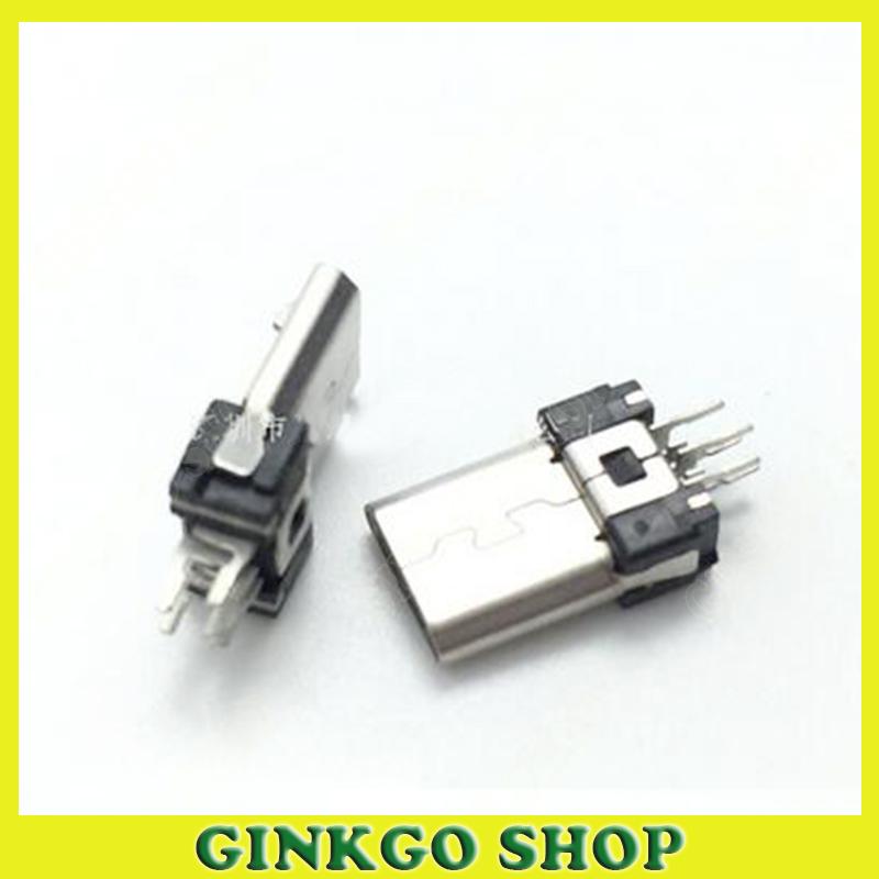 20pcs/lot MK High Quality Micro USB 5PINS Connector USB Plug Socket(China (Mainland))