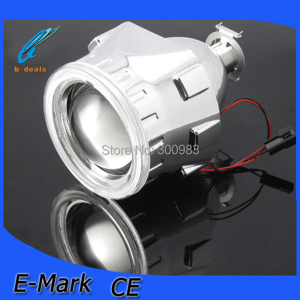 2.5 inch Hi/Lo hid projector lens angel eyes fit H1 H4 H7 9005 9006 - iCARS I store