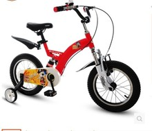 Buy kids bicycles / 2-8 year old / 12/14/16/18-inch Kids bike aluminum alloy freestyle bike boy buggiest car ride children bicycl for $184.00 in AliExpress store
