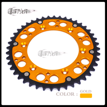 Buy 48T 520 CNC Rear Chain Sprockets RM RMZ 125 250 450 Motocross Supermoto Road Motorcycle Free for $45.89 in AliExpress store