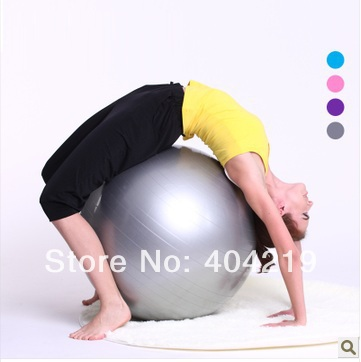 -Fitness Exercise Swiss Gym Fit Yoga Core Ball 75CM Abdominal Back leg Workout - Sports Store store