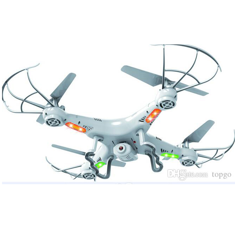 Helicopter X5C 0.3M Camera RC Drone 360-Eversion 2.4G Remote Control 4 CH 6 Axis Gyro Quadcopter Led Light Flying Plane Toy(China (Mainland))