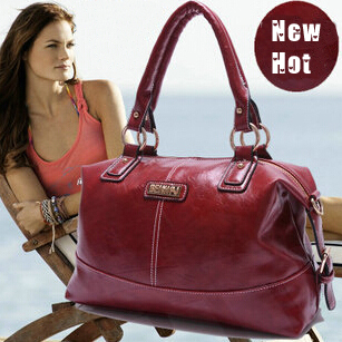 women oil wax leather handbags new 2015 fashion vintage luxury brand designer ladies shoulder messenger tote leather bags