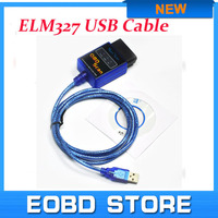 Promotion Price !!! 2015 New 100% Vgate USB ELM327 OBD2 / OBDII ELM 327 V2.1 Auto Diagnostic Tool