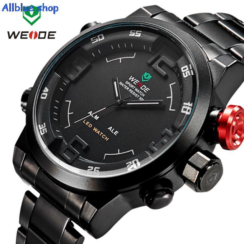 HOT WEIDE Mens Militar hub Watch Sports watches men luxury brand Dieseler relojes hombre relogio masculino original clock male(China (Mainland))