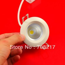 DHL Free Shipping  MINI COB 5W  Recessed LED Ceiling Down Light  AC85~265V (China (Mainland))