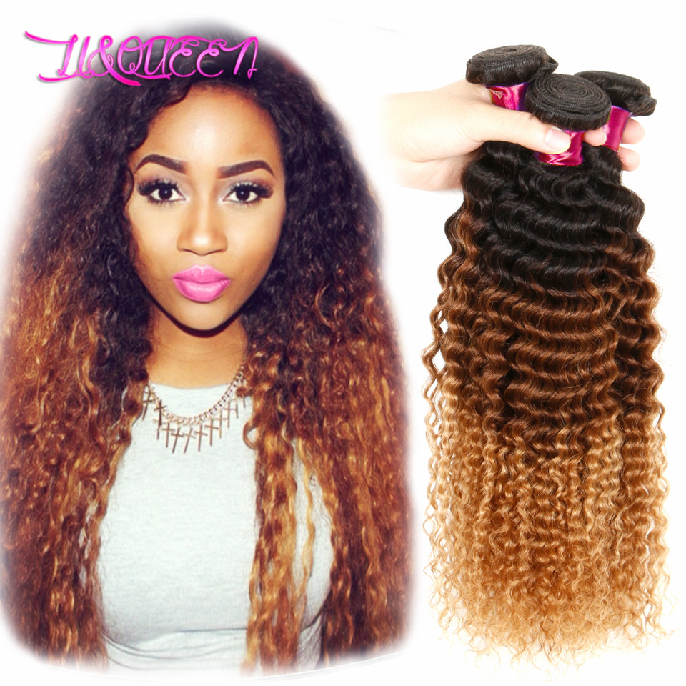 6A unprocessed Peruvian virgin hair,kinky curly ombre hair exttensions deep wave,100% human hair with cheap price<br><br>Aliexpress