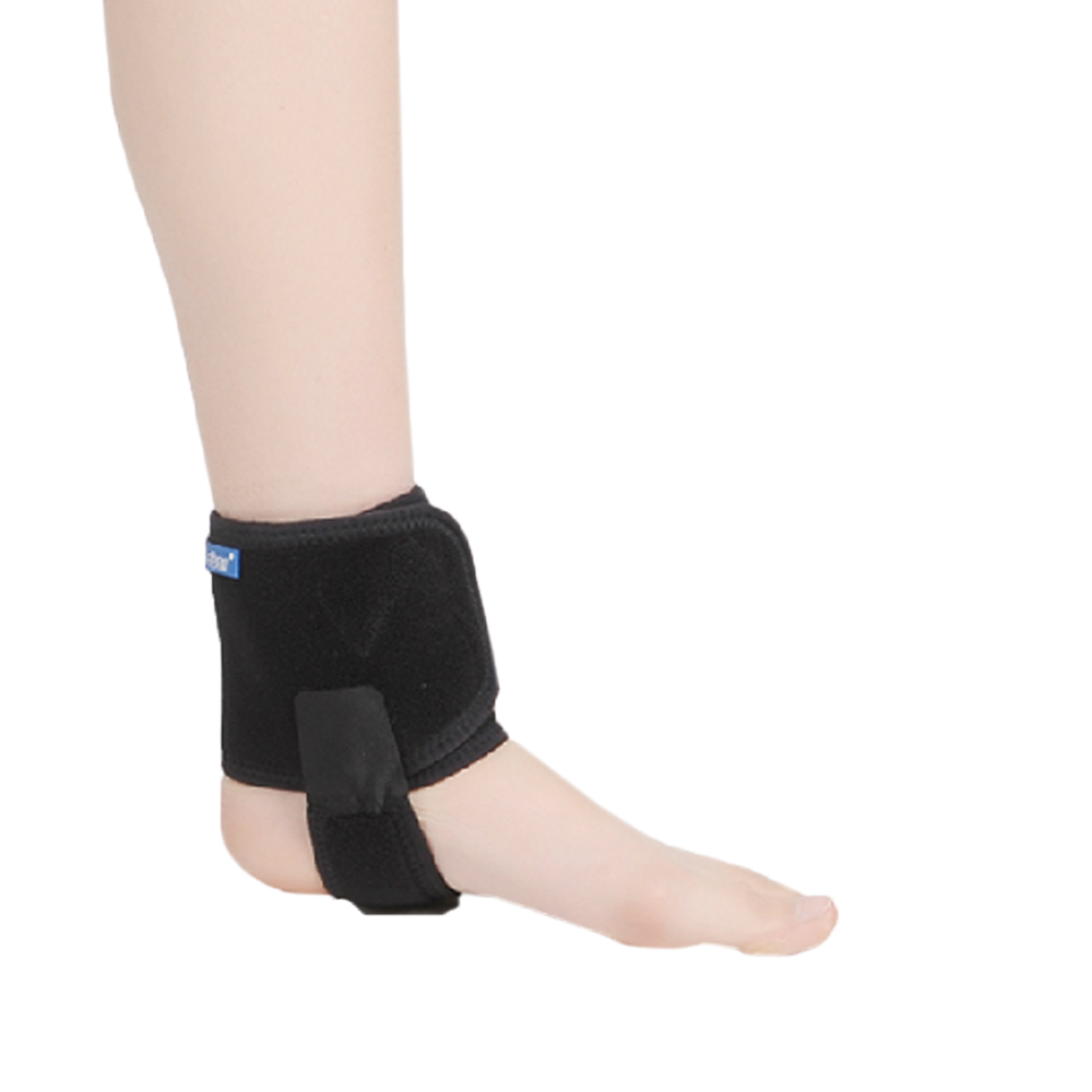 Breathable Open Heel Adjustable Ankle Brace Support Wrap For Ligaments Loose Sports Sprain Dearticulation(China (Mainland))