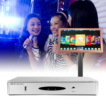 HD-HYNUDAL Chinese Karaoke Player Sing Machine 2TB HDD System 40K Original KTV MTV Songs+1080P Touch Screen Can Connect phone(China (Mainland))