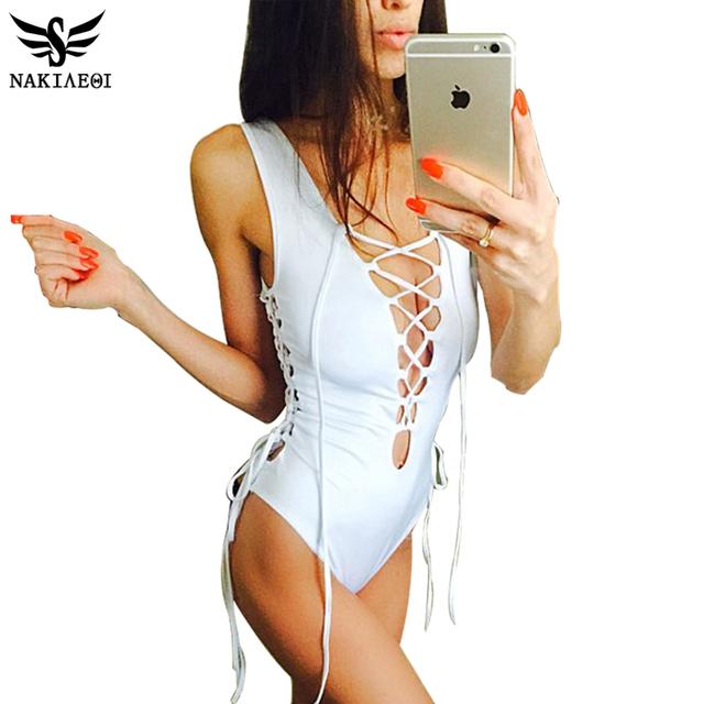 2016 новый купальник женщин купальники сексуальная ретро купальный костюм монокини боди майо де бейн лето бек одежда