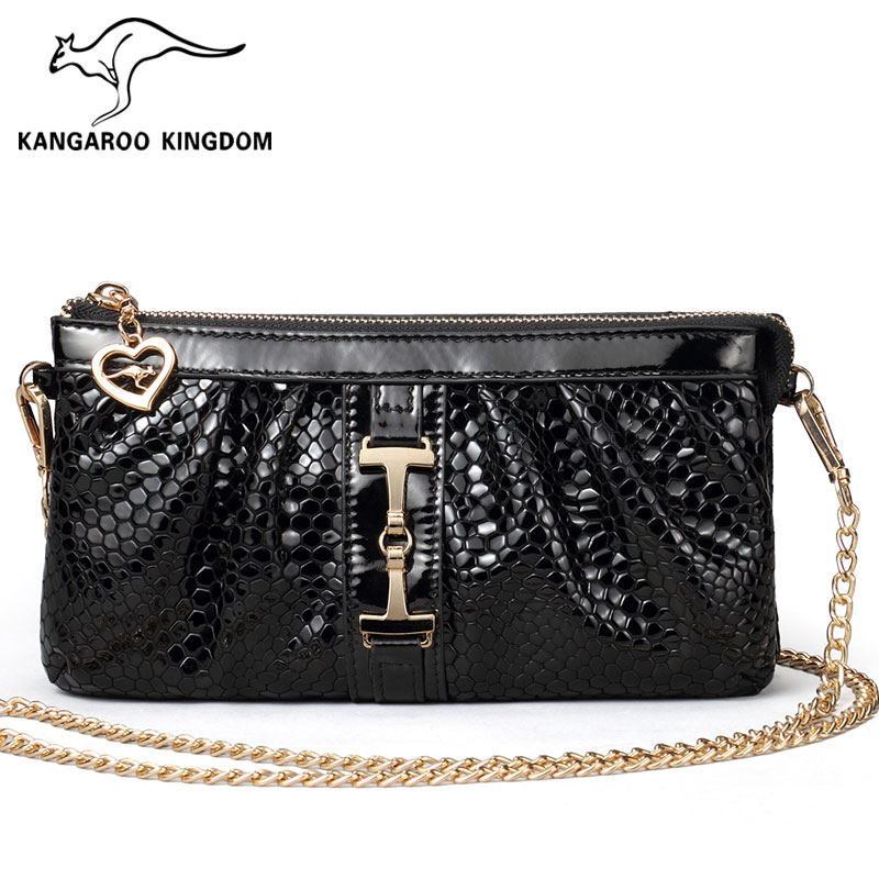 Kangaroo genuine 2015 new handbag fashion crocodile bag hand bag ladies fashion Crossbody<br>