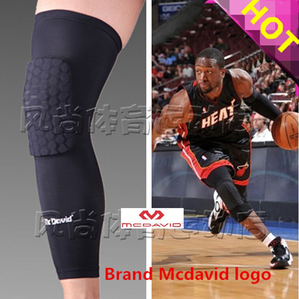 High Quality Mcdavid Breathable Basketball Footable Sports Kneepad Shank Honeycomb Pad Bumper Tight Kneelet Protective the Knee