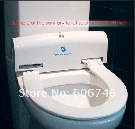 Automatic bidet cover intelligent toilet cover once toilet seat mat intelligent toilet cover - Automatic bidet toilet seat ...