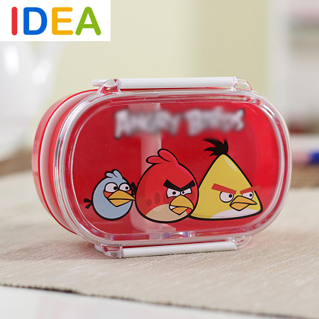 [ IDEA ]^_^2015 Cute Birds Lunchbox Bento Lunch Box Microwave Container Food Kids Thermos - Feel at home----Home & Garden store