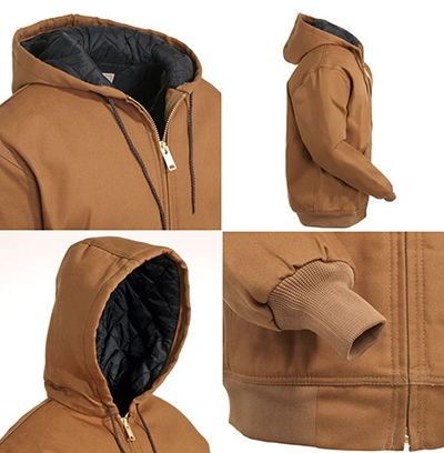 Winter Jacket Men Hooded Coat Thick Section Hot Sales Explosion Models Warm Cozy Men Jacket Winter