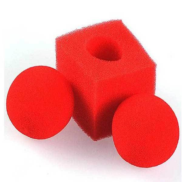 BuyNeer Cheap Kingmagic Magic Ball To Square Sponges Tricks Set Red(China (Mainland))