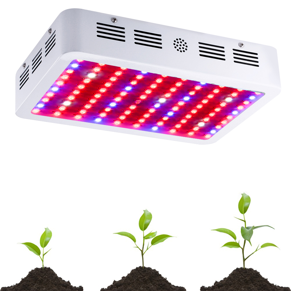 BOSSLED 1000W Double Chips LED Grow Light 410-730nm Full Spectrum LED Grow Lights For Indoor Plants Flowering And Growing(China (Mainland))