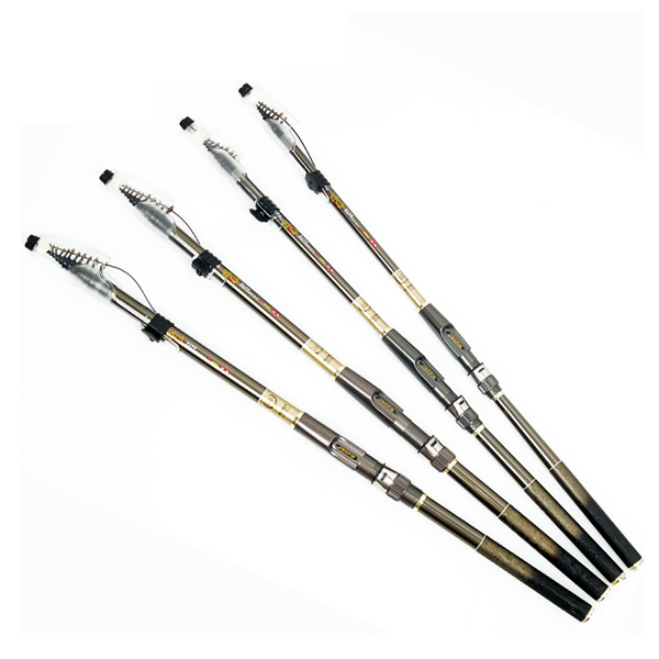 Ultra-light! Easy Taking! Carbon Rock Fishing Rod Hard Fishing Rods Dual Pole Set Fishing Rod 2.7m/3.0m/3.6m/4.5m/5.4m/6.3m