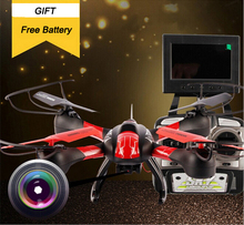 Sky Hawkeye RC Remote Control Quadcopter FPV Helicopter 5.8G Real Time Transmission Drone With Camera RTF 4CH 6 AXIS GYRO