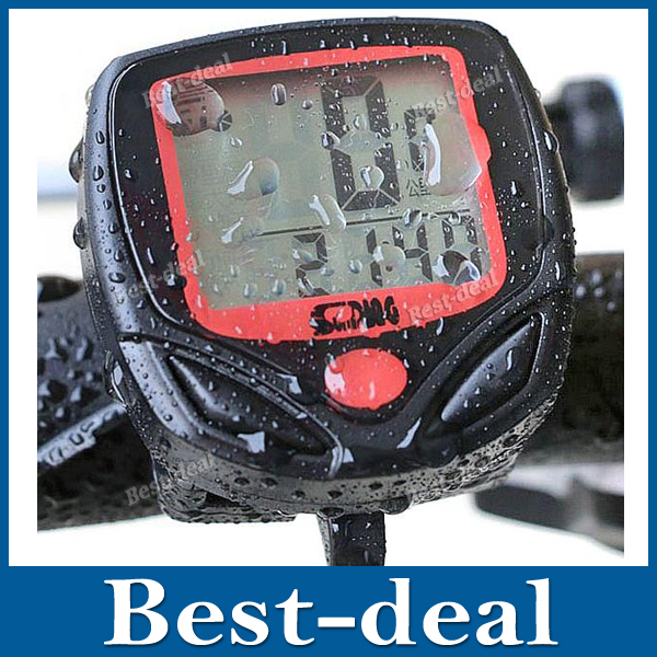 Waterproof Wireless LCD Digital Backlight Bike Bicycle Cycle Computer Odometer Speedometer Cycling Stopwatch Bicycle Accessories(China (Mainland))