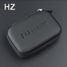 High-quality Original HZSOUND In Ear Earphone Box Headphones Portable Storage Case Bag Headphone Accessories Headset Storage Bag(China (Mainland))