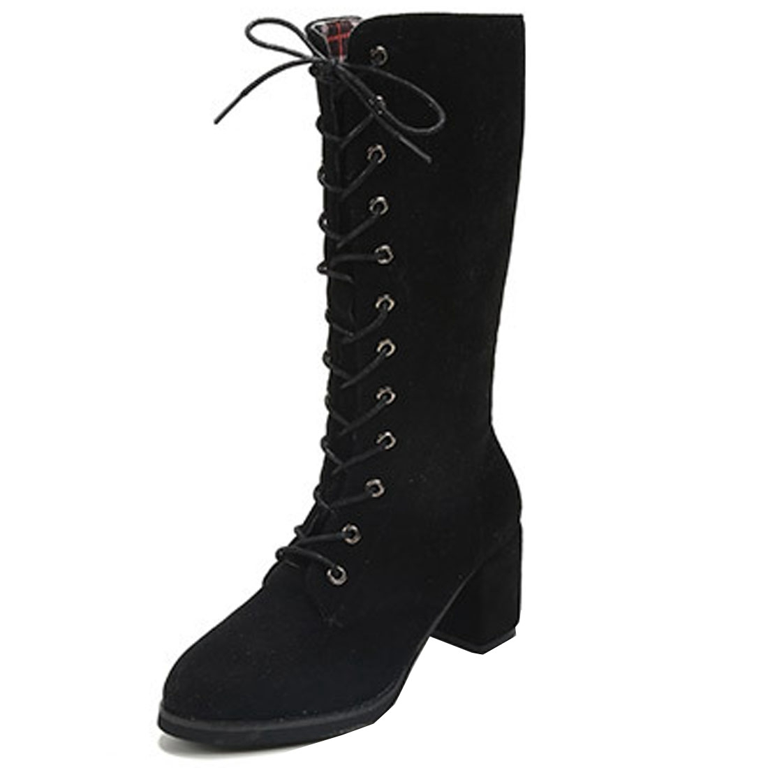 Thigh High Lace up Boots Women Promotion-Shop for Promotional ...