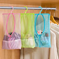 72 Pockets Women Dress Jewelry Pouch Holder Closet Bags With Hanging Hook